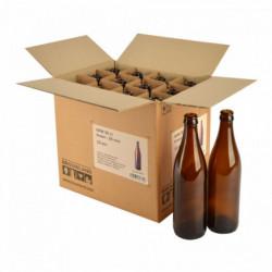 Bierfles NRW 50 cl, bruin,...