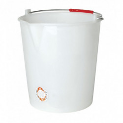 bucket white 14 l without...