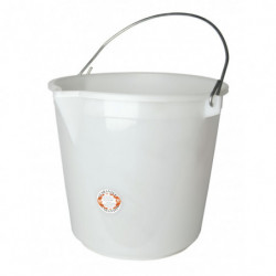 bucket white 25 l without...