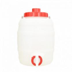 plastic tank round + lid +...