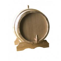 barrel decorative oak with...