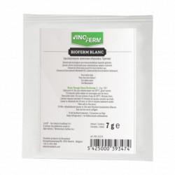 levure sèche Bioferm Blanc 7 g