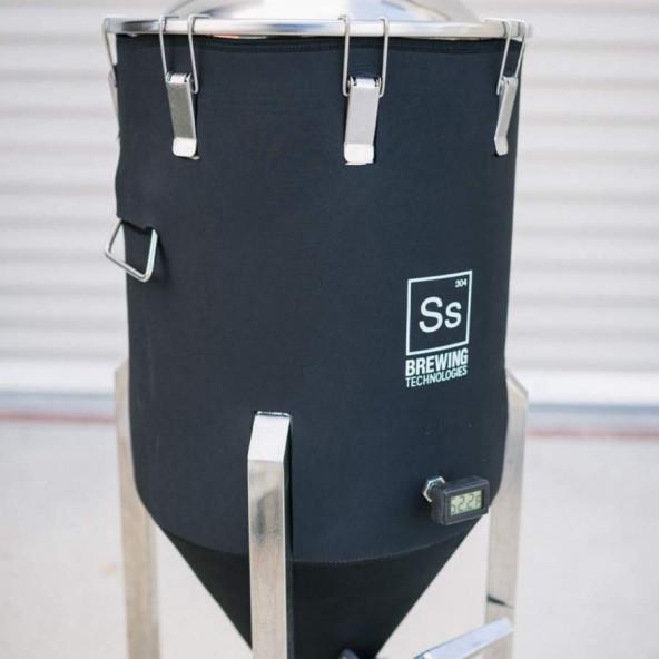 Ss Brewtech Jacket voor 79 l (half bbl) Chronical Fermenter (10 klemmen versie)