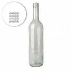 Wijnfles bordeaux 75 cl,...