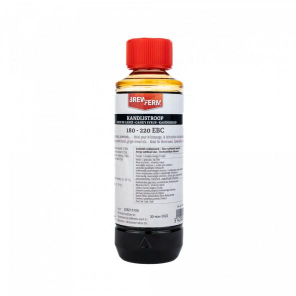 Kandijstroop vloeibaar donker 250 ml (325 g)