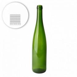 Pallet wijnflessen fluit...