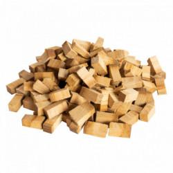 Cubes de bois de chêne rhum...
