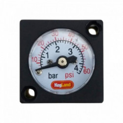Pressure gauge 0 - 4 bar...